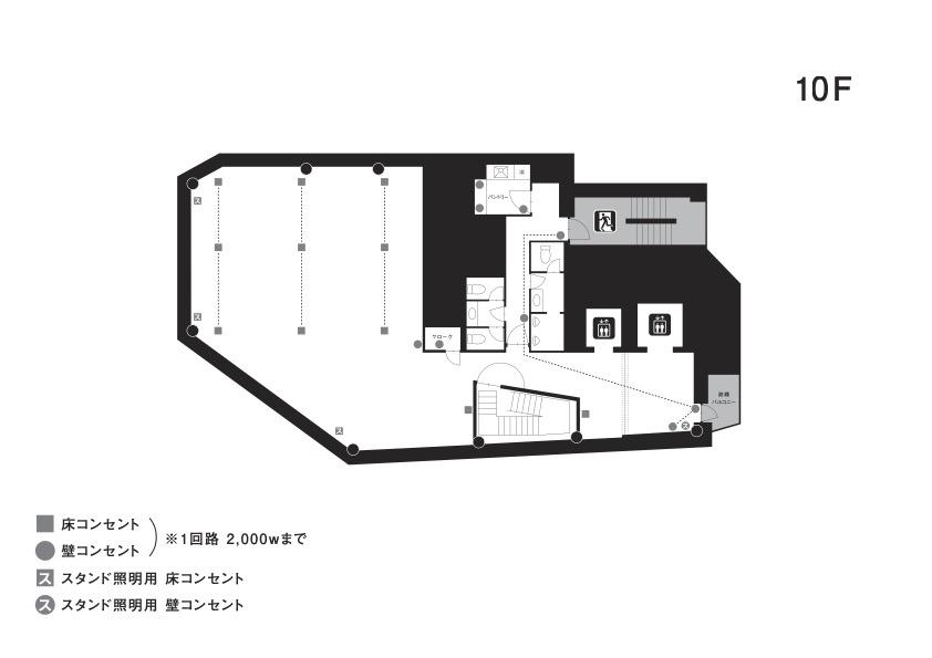 クオーツ図面_コンセント_10F