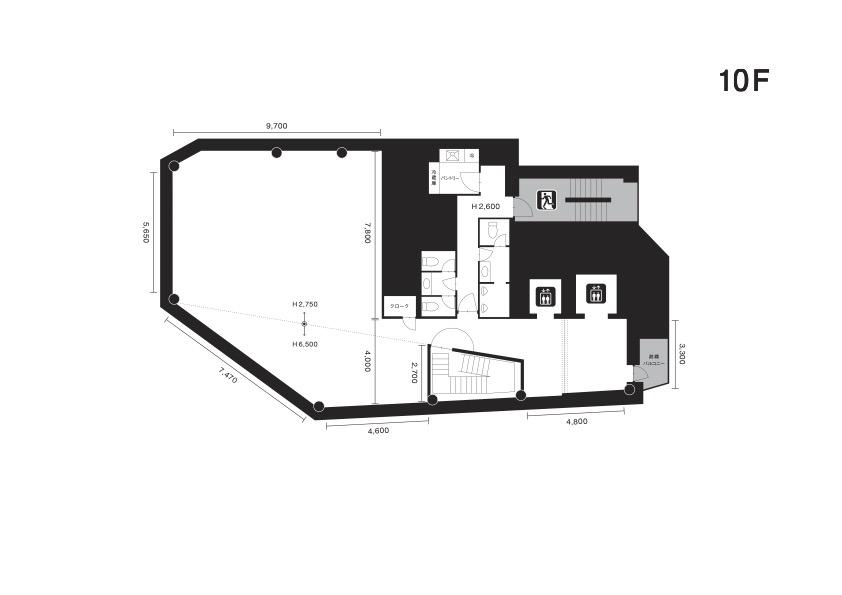 クオーツギャラリー図面10F
