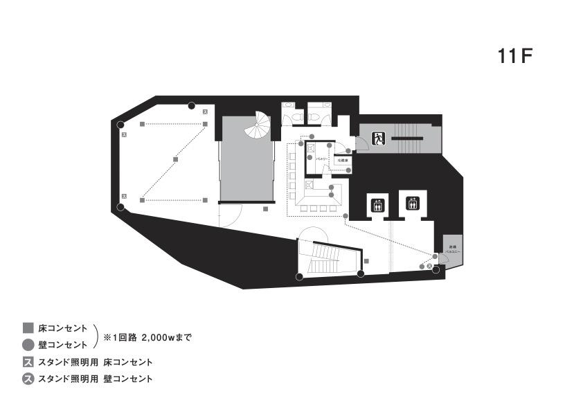 クオーツ図面_コンセント_11F