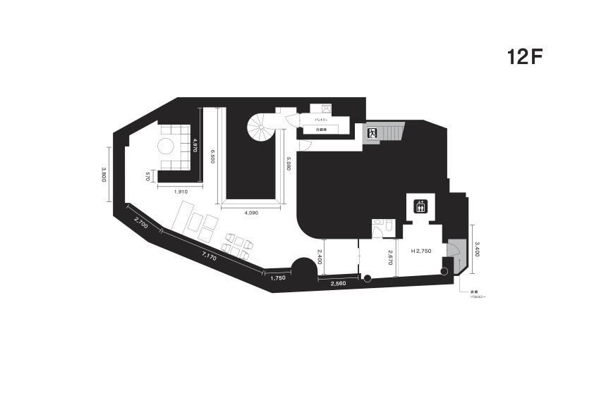 クオーツギャラリー図面12F