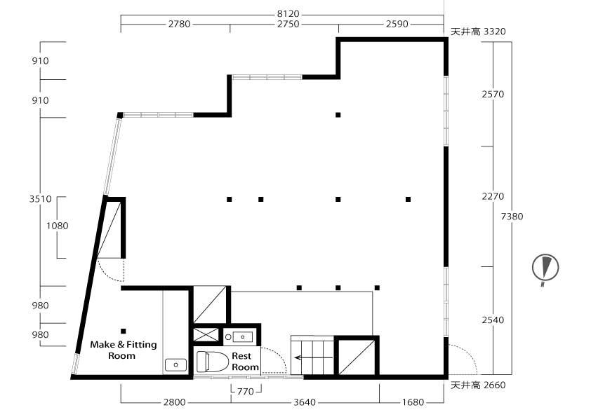 平面図-2F